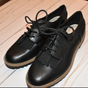 81c50bb836c Clarks. Clark s somerset black leather Oxford shoes
